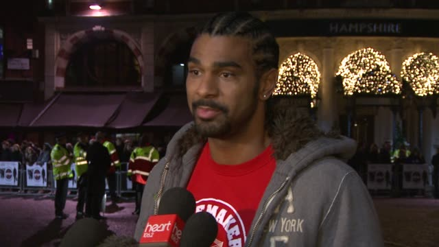 david haye on coming to terms with his achievement how he's spent the last few months locked away training and how he's looking forward to coming... - zuletzt stock-videos und b-roll-filmmaterial