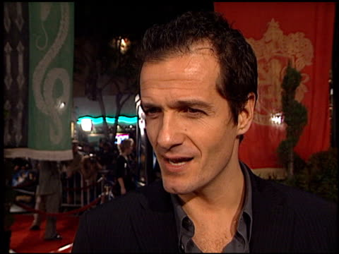 david heyman at the 'harry potter and the chamber of secrets' premiere on november 14 2002 - potter stock videos & royalty-free footage