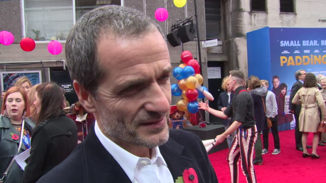 david heyman on workimg with paul king the movie and filming techniques at bfi southbank on november 05 2017 in london england - bfi southbank stock videos & royalty-free footage