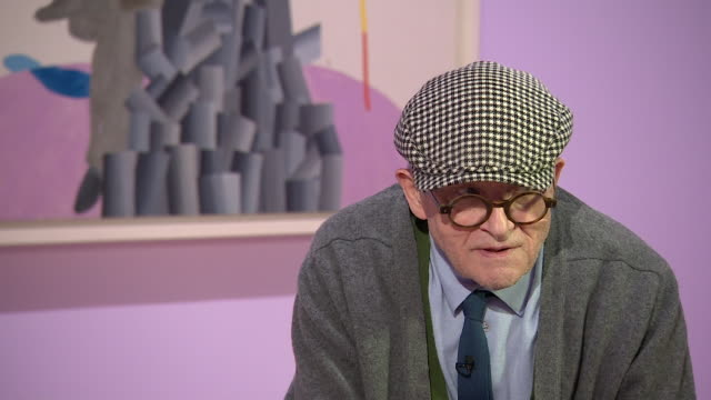 david hockney 'i have spent a lot of time on it exploring photography and exploring therefore perspective' - cubism stock videos & royalty-free footage