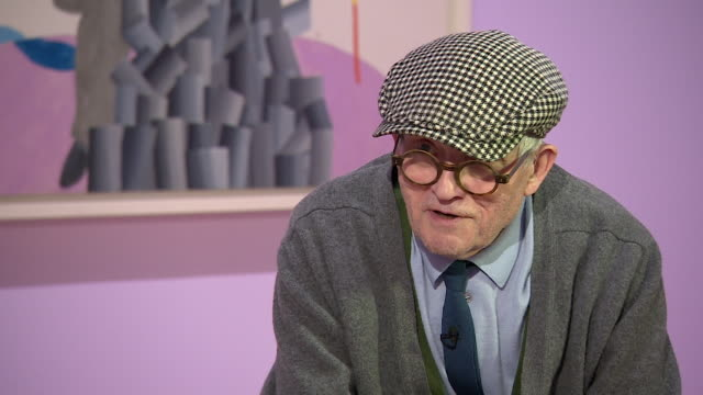 david hockney saying 'i always did what i wanted to doi have done what i wanted to do every day' - cubism stock videos & royalty-free footage