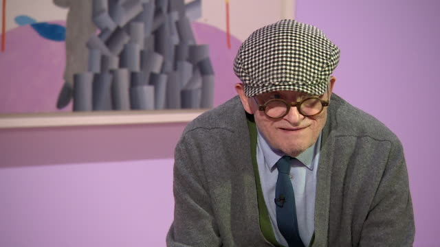 david hockney saying 'i don't really care about popularityif i do them [his paintings] good enough someone else will like them as well' - cubism stock videos & royalty-free footage