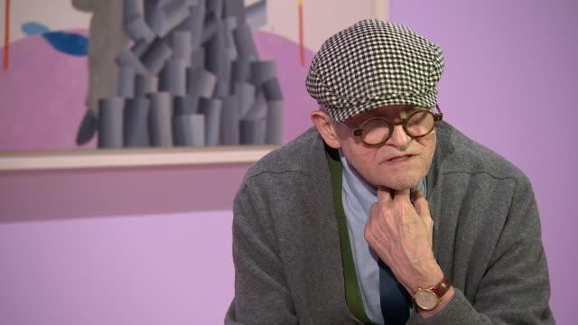 david hockney saying 'i never followed the [art] marketi'm always changing' - cubism stock videos & royalty-free footage