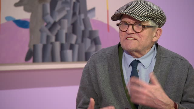 david hockney saying talks about future artists saying 'if they really look i am sure they will find things that no one else has found' - cubism stock videos & royalty-free footage