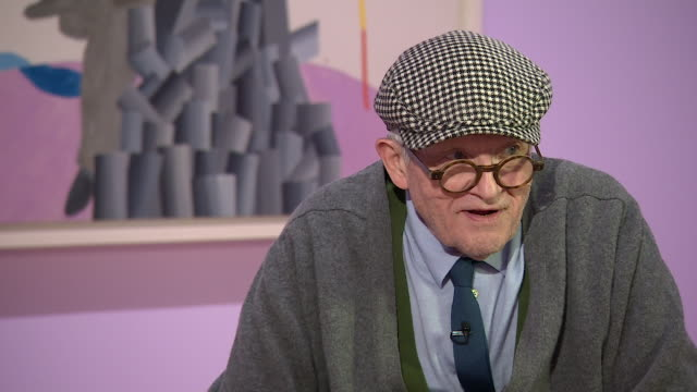david hockney saying 'you cannot leave depiction to photography it's too dull' - scolding stock videos & royalty-free footage