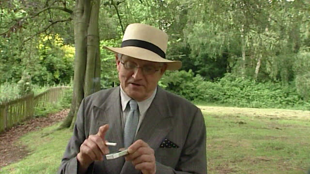 david hockney talking about cigarette butts littering the ground - acrylic painting stock videos & royalty-free footage