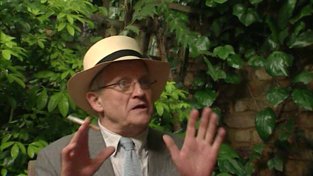 david hockney talks about 'dreary people' who want smoke free environments - still life stock videos & royalty-free footage
