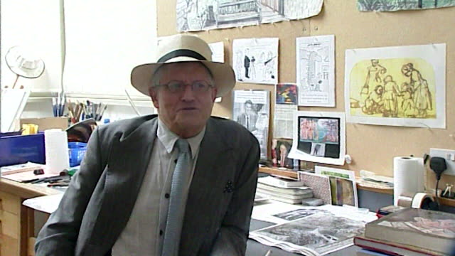 david hockney talks about lack of tolerance when smoking in public - smoking issues stock videos & royalty-free footage