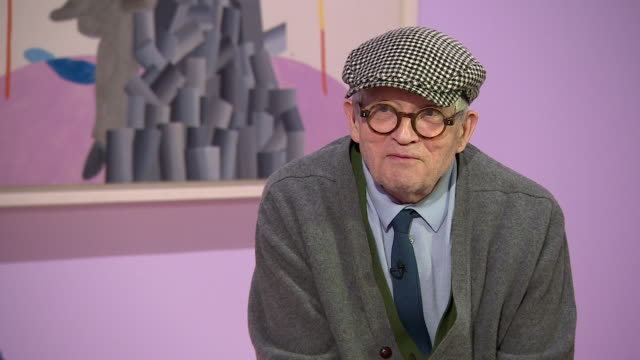 david hockney talks about the end of his career saying 'i don't know how long i am gonna haveone year five years ten years i don't know' - cubism stock videos & royalty-free footage
