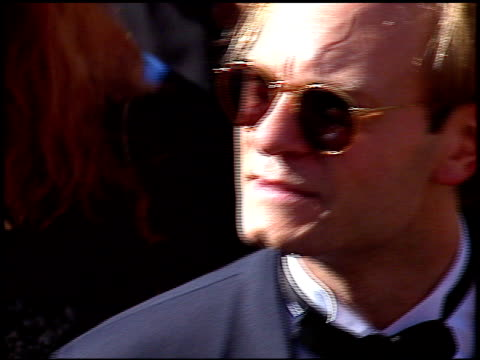 david hyde pierce at the 1996 emmy awards arrivals at the pasadena civic auditorium in pasadena california on september 8 1996 - pasadena civic auditorium stock videos & royalty-free footage