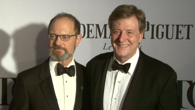 David Hyde Pierce Brian Hargrove at The 67th Annual Tony Awards Arrivals at Radio City Music Hall on June 09 2013 in New York New York