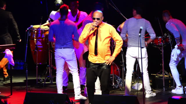 David is a renowned Cuban musician His band plays popular dance music David Calzado director and owner of La Charanga Habanera performs on a crowded...