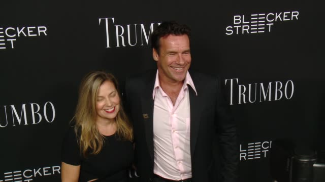 David James Elliott at the Trumbo Los Angeles Premiere at the Academy of Motion Picture Arts and Sciences on October 27 2015 in Beverly Hills...
