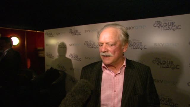 David Jason at the The Colour of Magic Premiere at Curzon Mayfair in London on March 3 2008