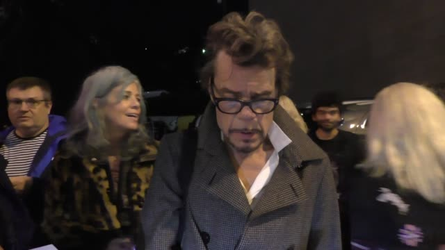 David Johansen signs autographs for fans outside The Roxy in West Hollywood in Celebrity Sightings in Los Angeles