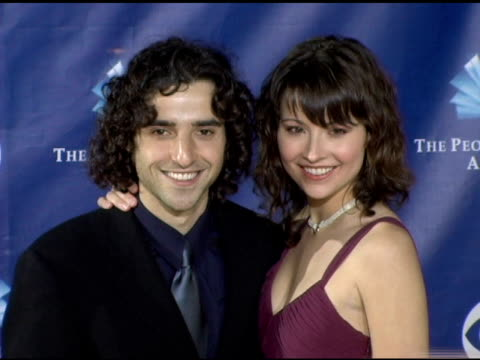 David Krumholtz and guest at the 2006 People's Choice Awards arrivals at the Shrine Auditorium in Los Angeles California on January 10 2006