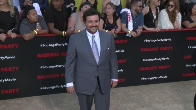 David Krumholtz at Sausage Party Premiere in Los Angeles CA