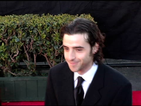 David Krumholtz at the 2005 Screen Actors Guild SAG Awards Arrivals at the Shrine Auditorium in Los Angeles California on February 5 2005