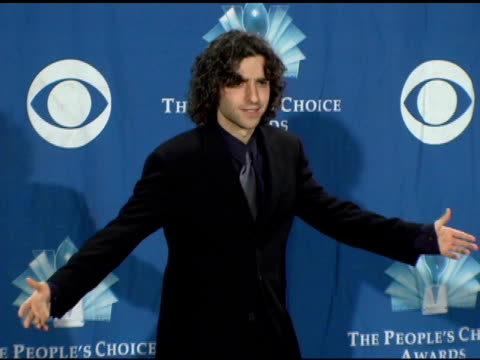 David Krumholtz at the 2006 People's Choice Awards press room at the Shrine Auditorium in Los Angeles California on January 10 2006