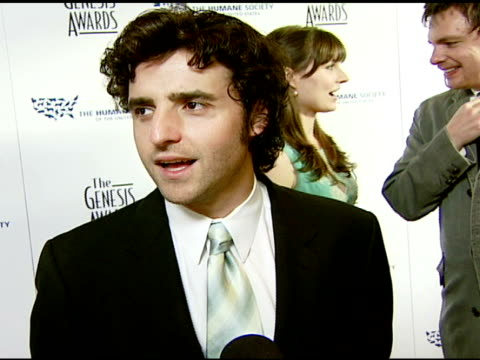 David Krumholtz on the event at the 2008 Genesis Awards at the Beverly Hilton in Beverly Hills California on March 30 2008