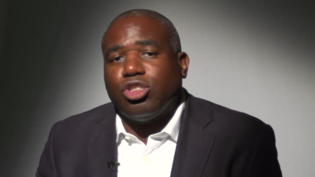 david lammy repeating racist abuse he has received online - caucasian appearance stock videos & royalty-free footage