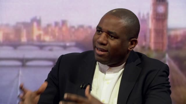 David Lammy saying his comparison of the ERG to the Nazi party 'wasn't strong enough'
