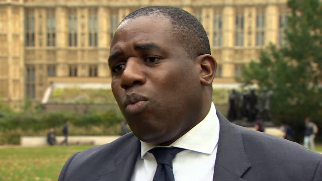 vídeos y material grabado en eventos de stock de david lammy saying what are we going to do about it in regards to data published by the government detailing disparities in education health... - racismo