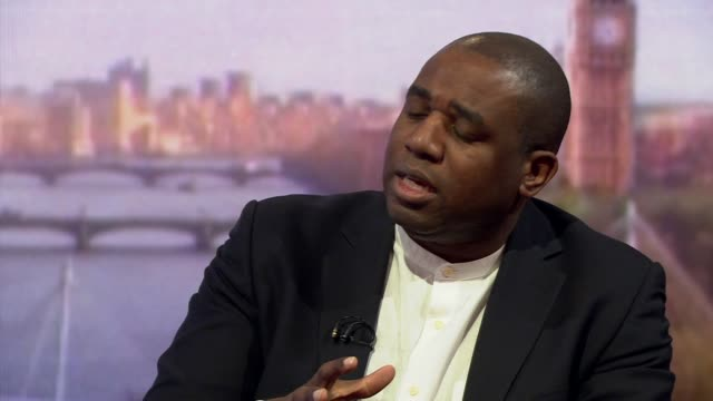 David Lammy talking about the Labour antisemitism controversy