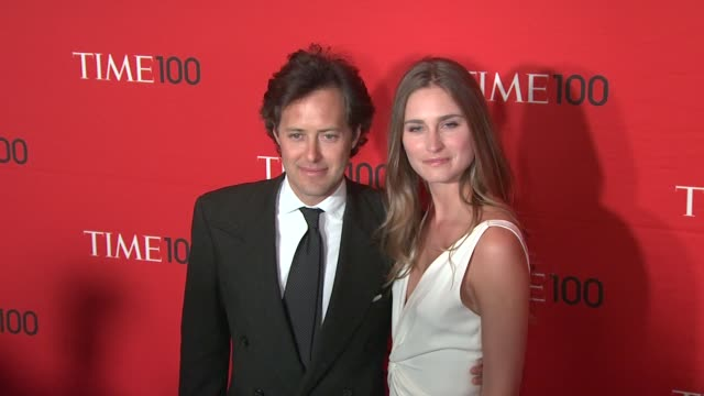 david lauren lauren bush at time 100 gala at frederick p rose hall jazz at lincoln center on april 24 2012 in new york new york - lauren bush lauren stock videos & royalty-free footage