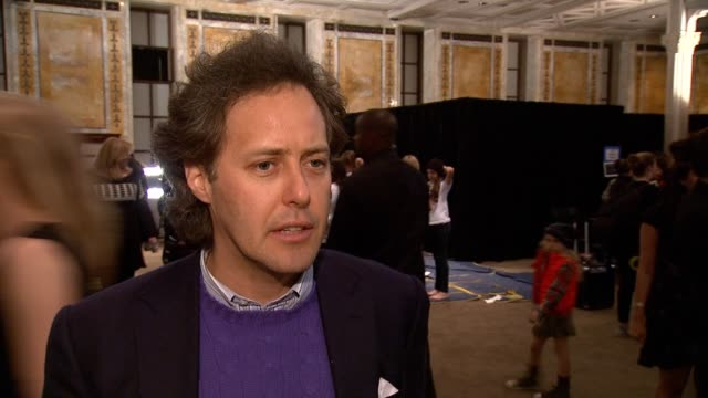INTERVIEW David Lauren talks about the new Ralph Lauren literacy campaign and why it's important to the brand on having the fashion show on his...