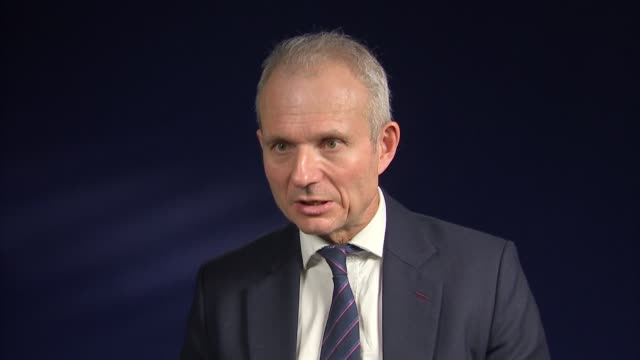london int david lidington mp interview sot on lammy review / social mobility / brexit - social justice stock videos & royalty-free footage