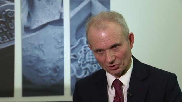 London INT David Lidington MP interview SOT re Carillion