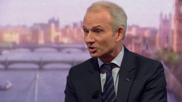 David Lidington saying the British public 'quite rightly want politicians to get on' with Brexit