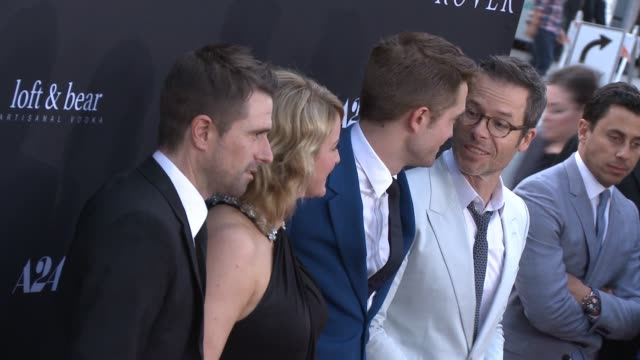 david michod susan prior robert pattinson guy pearce liz watts and david linde at the rover los angeles premiere at regency bruin theatre on june 12... - regency style stock videos and b-roll footage