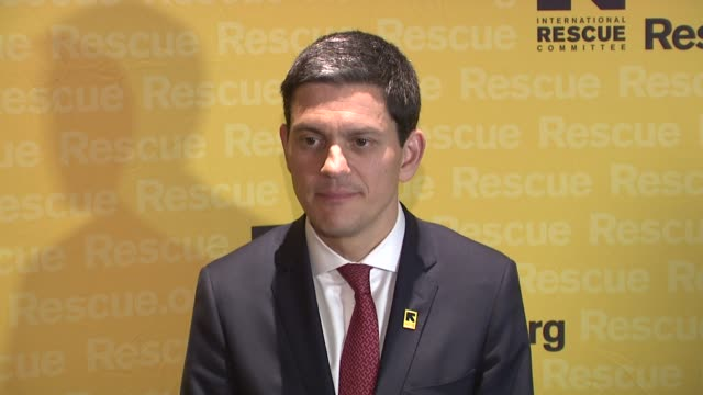 David Miliband at 2015 International Rescue Committee Freedom Award Benefit at Waldorf Astoria Hotel on November 04 2015 in New York City