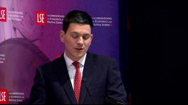 david miliband speech at the london school of economics the perspectives and budgets of the eu on internal as well as foreign policy owe far too much... - too small stock videos & royalty-free footage