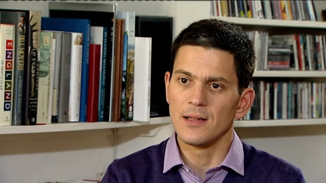 david miliband withdraws from the shadow cabinet david miliband interview david miliband interview sot i went through with louise and the family very... - only boys stock videos & royalty-free footage