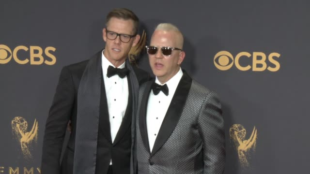David Miller Ryan Murphy at the 69th Annual Primetime Emmy Awards at Microsoft Theater on September 17 2017 in Los Angeles California