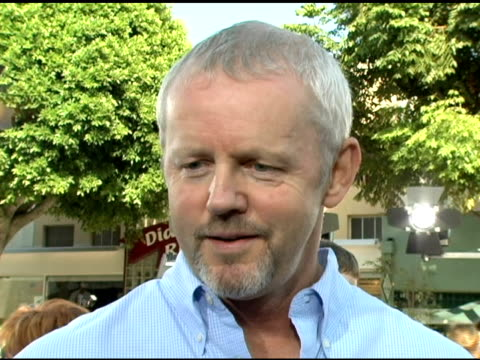 david morse on the film and his character at the 'dreamer' los angeles premiere at the mann village theatre in westwood, california on october 9,... - regency village theater stock videos & royalty-free footage