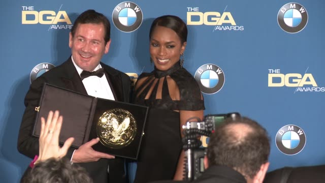 David Nutter Angela Bassett at 68th Annual Directors Guild Of America Awards in Los Angeles CA