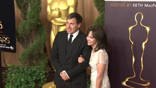 david o russell and sally field at the 85th academy awards nominations luncheon in beverly hills ca on 2/4/13 - sally field stock videos & royalty-free footage