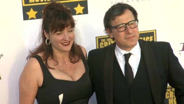 David O Russell at 19th Annual Critics' Choice Movie Awards Arrivals at The Barker Hanger on in Santa Monica California