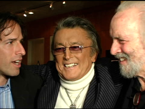 David O'Russel Robert Evans and Robert Towne at the AMPAS 30th Anniverary screening of 'Chinatown' at the Academy of Motion Picture Arts and Sciences...