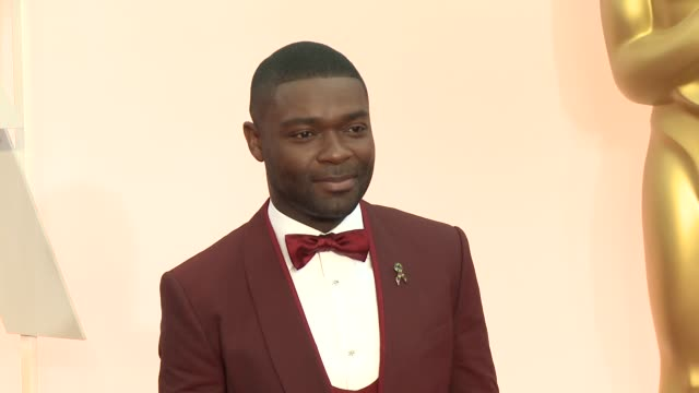 vídeos y material grabado en eventos de stock de david oyelowo and jessica oyelowo at 87th annual academy awards arrivals at dolby theatre on february 22 2015 in hollywood california - teatro dolby
