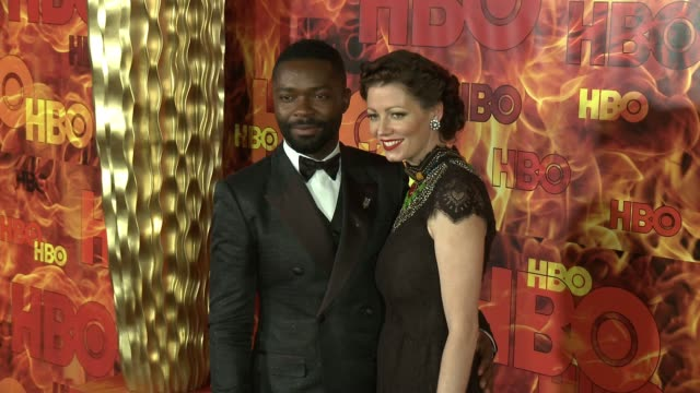 vídeos y material grabado en eventos de stock de david oyelowo and jessica oyelowo at the 2015 hbo emmy after party at the plaza at the pacific design center on september 20 2015 in los angeles... - pacific design center