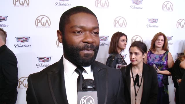 INTERVIEW David Oyelowo at 29th Annual Producers Guild Awards presented by Cadillac at The Beverly Hilton Hotel on January 20 2018 in Beverly Hills...
