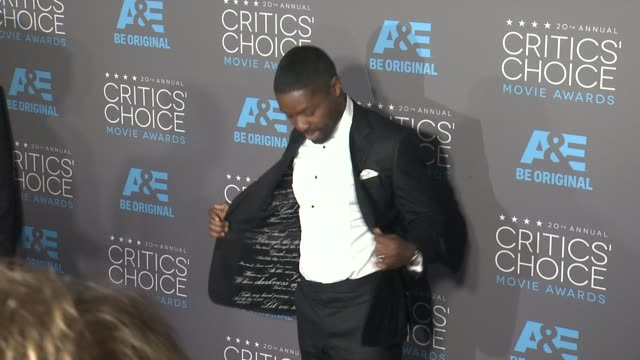 David Oyelowo at the 20th Annual Critics' Choice Awards at Hollywood Palladium on January 15 2015 in Los Angeles California