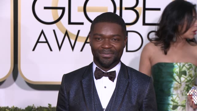 David Oyelowo at the 72nd Annual Golden Globe Awards Arrivals at The Beverly Hilton Hotel on January 11 2015 in Beverly Hills California