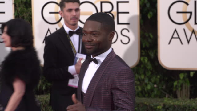 David Oyelowo at the 73rd Annual Golden Globe Awards Arrivals at The Beverly Hilton Hotel on January 10 2016 in Beverly Hills California 4K