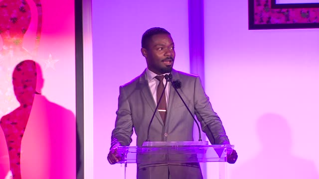 david oyelowo at the 7th annual essence black women in hollywood luncheon at beverly hills hotel on february 27, 2014 in beverly hills, california. - beverly hills hotel stock videos & royalty-free footage